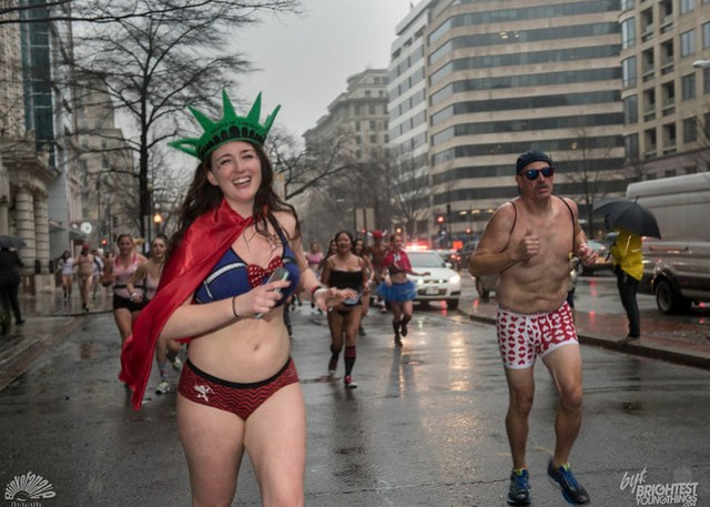 Cupid's Undie Run 2018