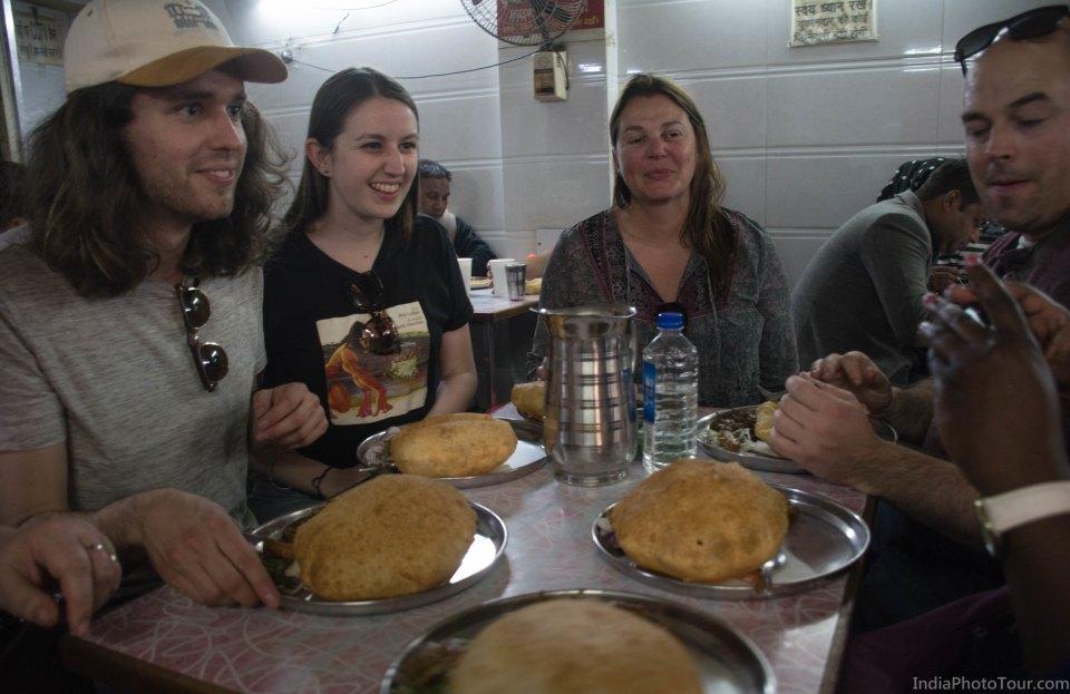 More fried food in Old Delhi
