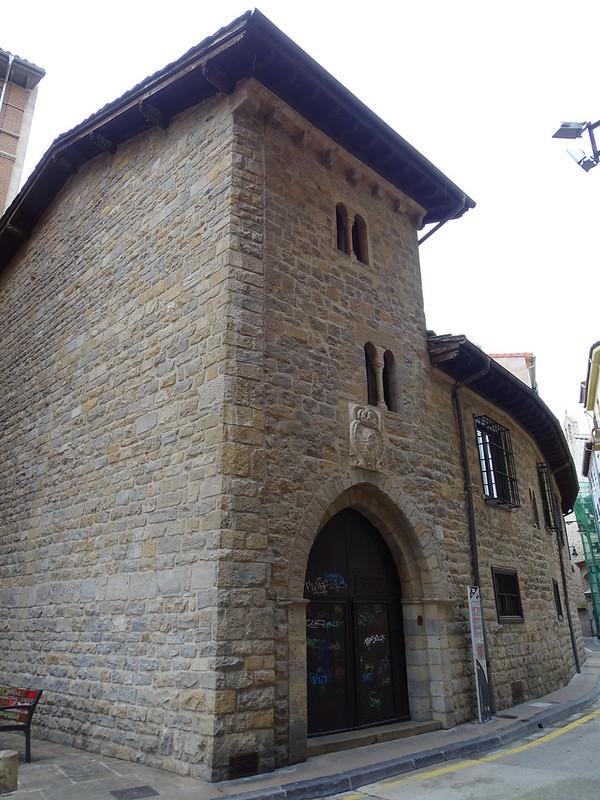 Camara de Comptos Reales Tribunal de Cuentas gotico Pamplona