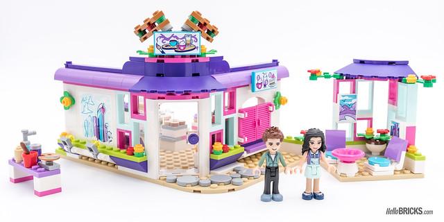REVIEW LEGO Friends 2018 - LEGO 41336 Emma's Art Café