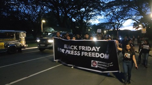 Black Friday Press Freedom protest