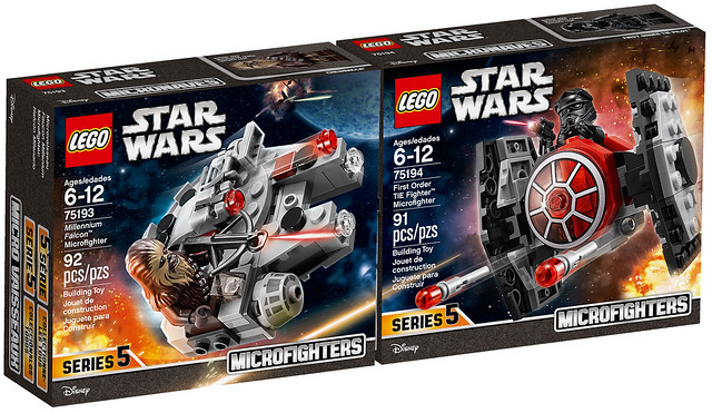 LEGO Star Wars Microfighters 75193 et 75194