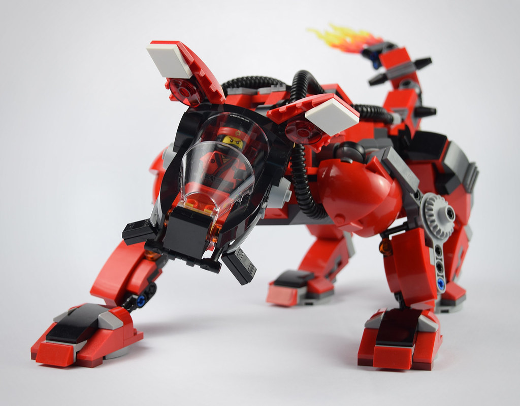 Fire Mech (70615) Alternate Build