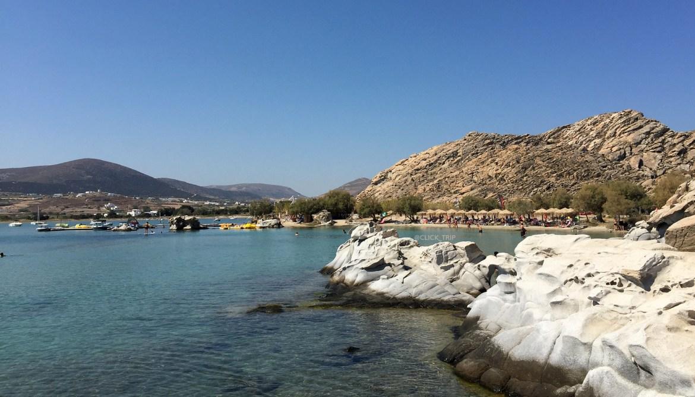 · Kolimbithres, una de las mejores playas de Paros ·