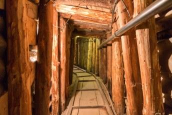 De tunnel was 340 meter lang.