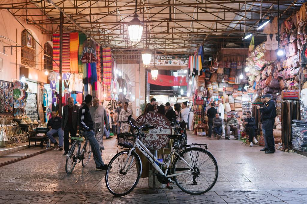 Marrakech - Jemaa el-Fnaa