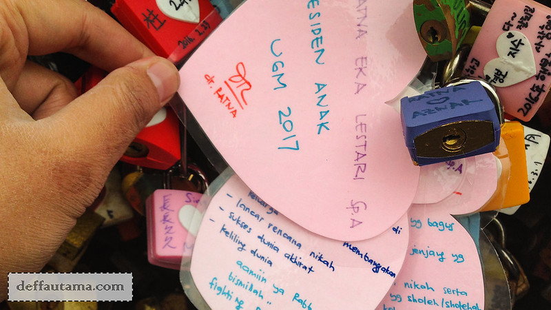 5 hari di Seoul - Love Lock Wish List