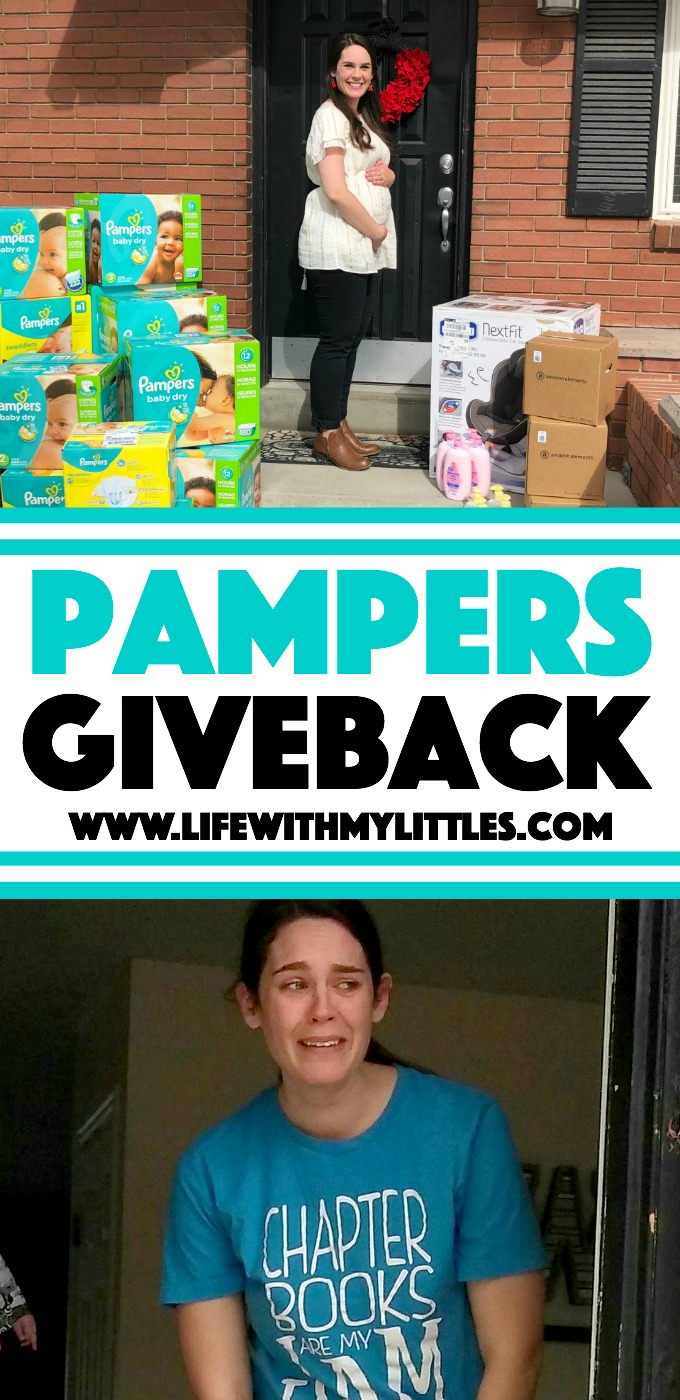 I recently partnered with Pampers on a Pampers Giveback and surprised my little sister with $1,000 worth of baby things! Read all about what I got her and see her tear-jerking reaction!