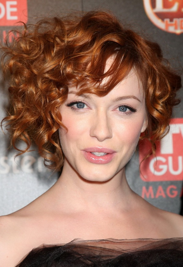 Short Hairstyles For Curly Hair 2018 Short Curly
