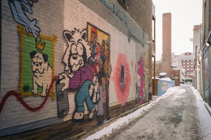 Lafayette alley