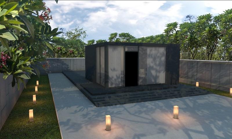 A render of Revo Basics - a designer branded home for under Php 1 Million- P999k