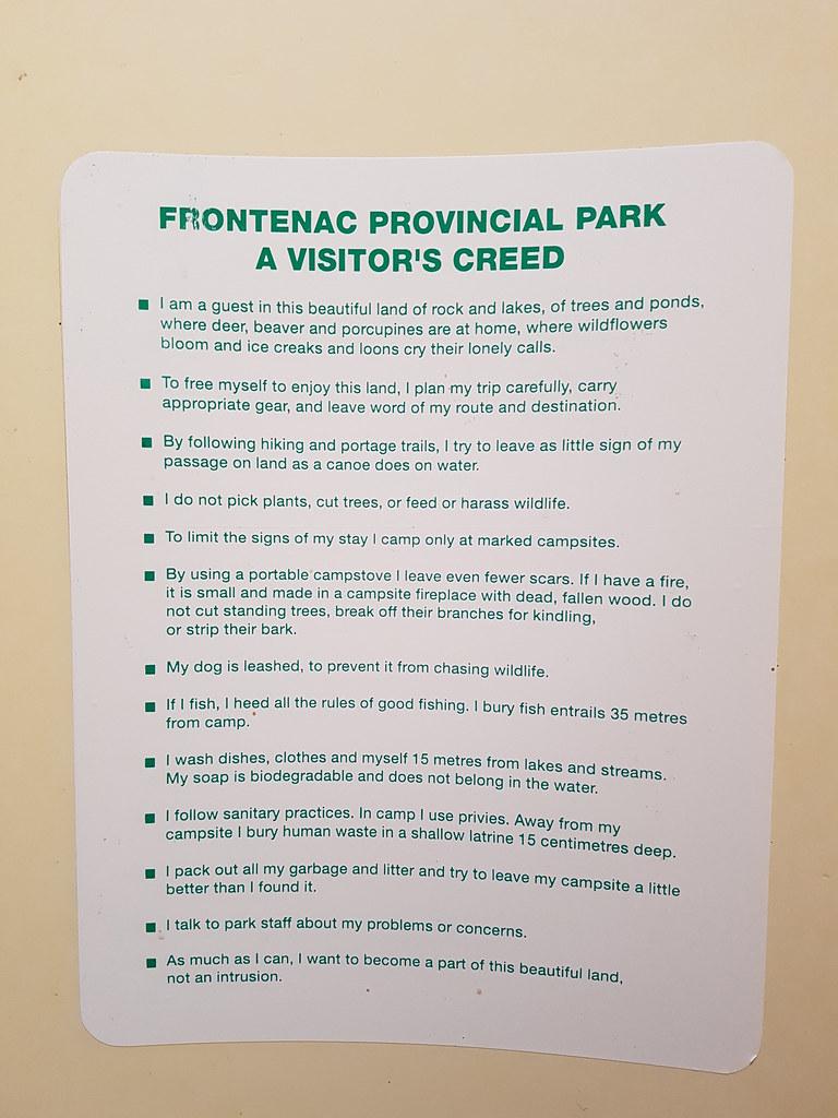 Frontenac Provincial Park Day 2