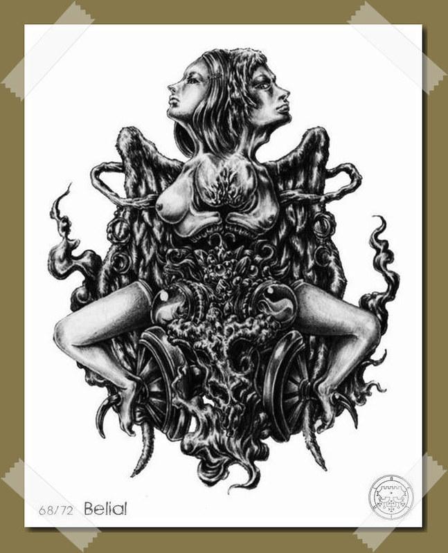 Belial - Démon et esprit de Salomon