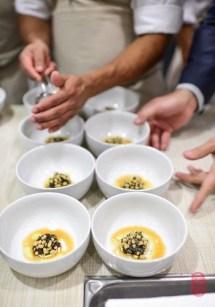 1st Course: Field Peas and California Caviar