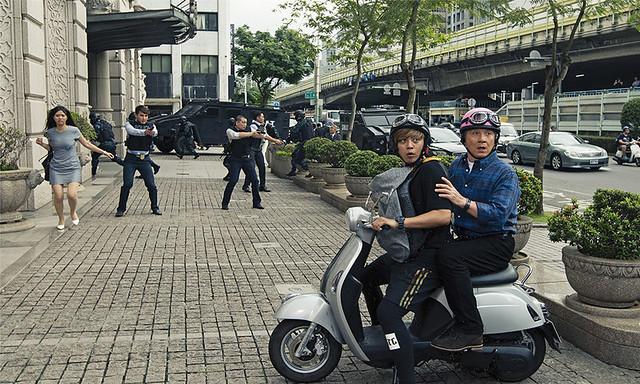 Bleeding Steel Jackie Chan Show Luo Taipei