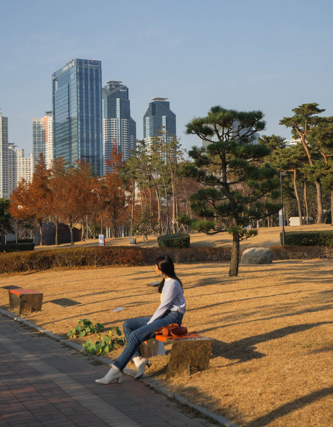 Shinsegae Centum City autumn in busan, korea