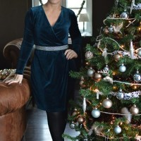 Outfit of the week: Velvet Dress