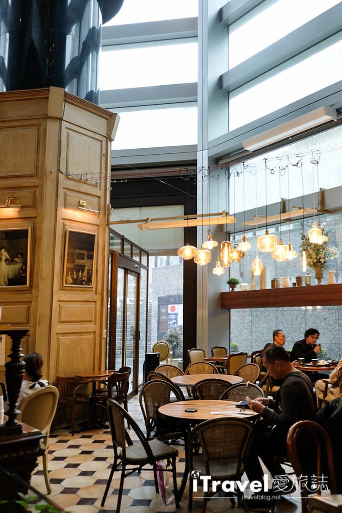 《首尔美食餐厅》Chloris 驿三店:捷运站旁的欧风下午茶餐厅
