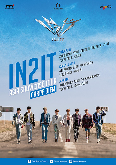 IN2IT Asia Showcase Tour 'Carpe Diem'