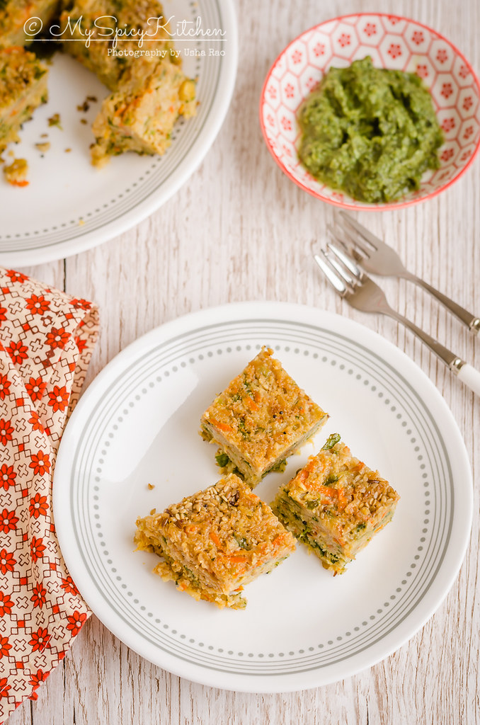 Instant pot handvo is a savory mixed lentils rice cake with vegetables.  It is a snack from Gujarat, Gujarati Food, Savory Bake, Savory Mixed Lentils Rice Cake