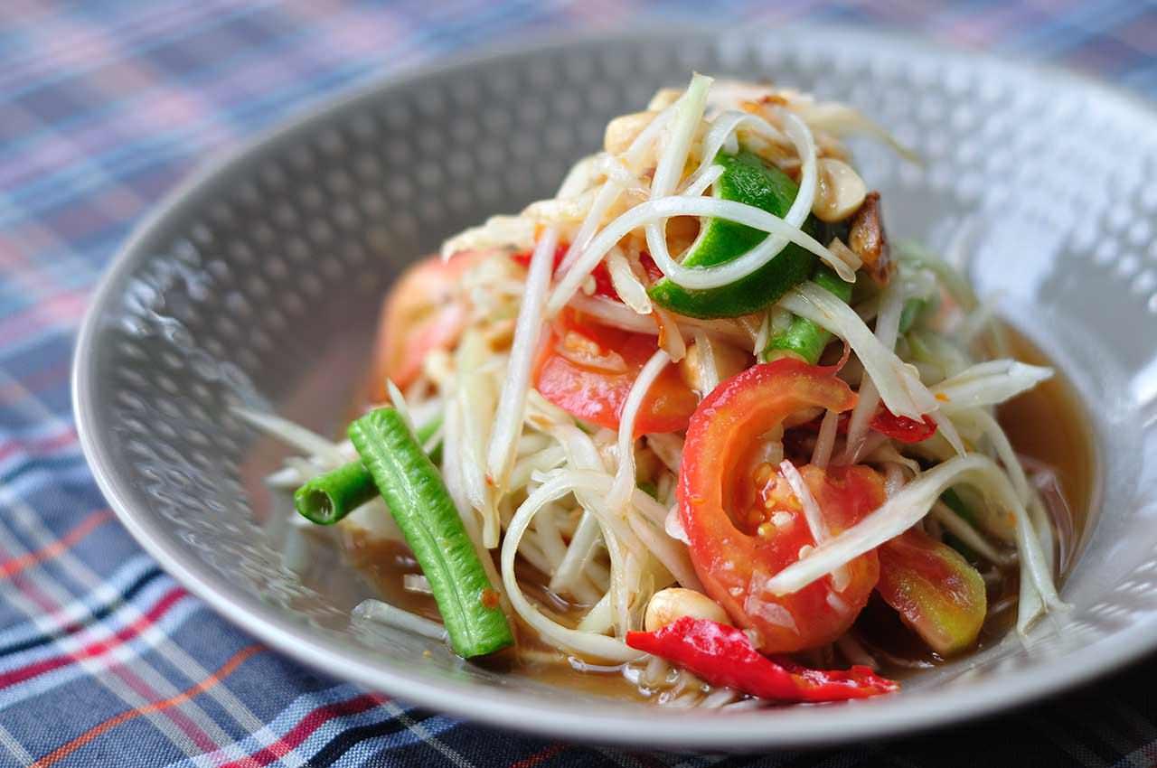 《曼谷美食餐厅》Somtum Der:泰东北菜系私房餐厅好评推荐