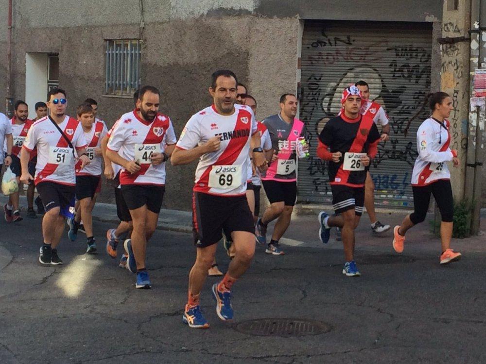 La Chori Race, la primera carrera de aficionados del Rayo Vallecano