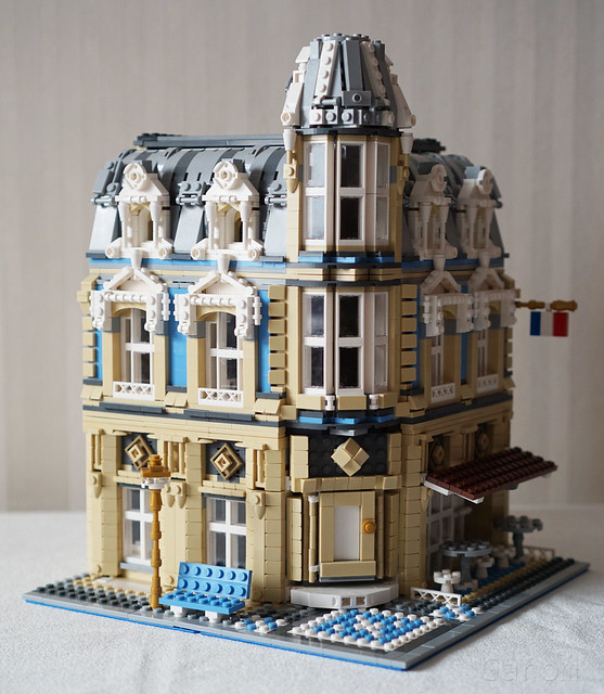 One Set MOC LEGO 10214 Tower Bridge