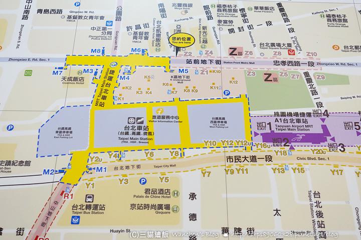 台北車站出口