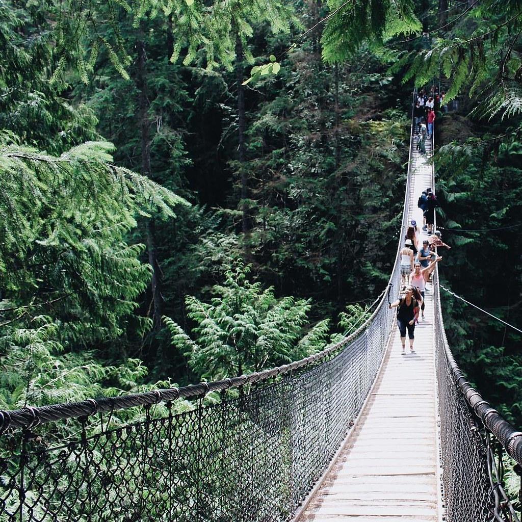 Lynn Canyon Suspension Bridge | RACHEYwrites