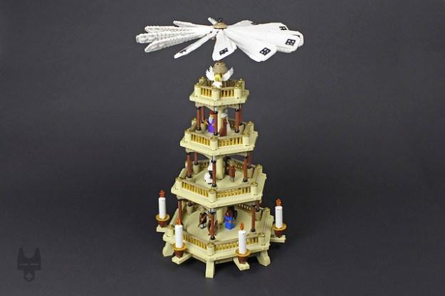 Christmas pyramid (Weihnachtspyramide)