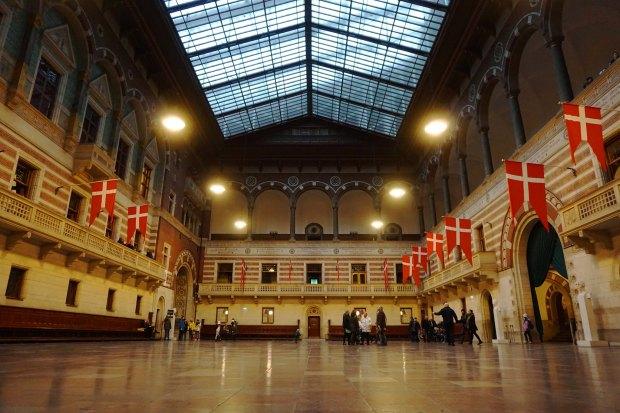 Copenhagen - Inside the Rådhus