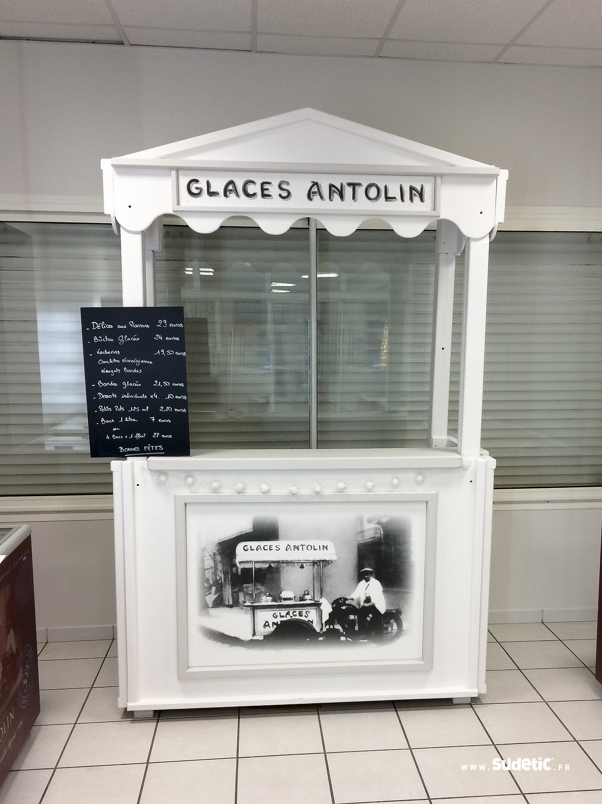 Sudetic impression kiosque Glaces Antolin-2