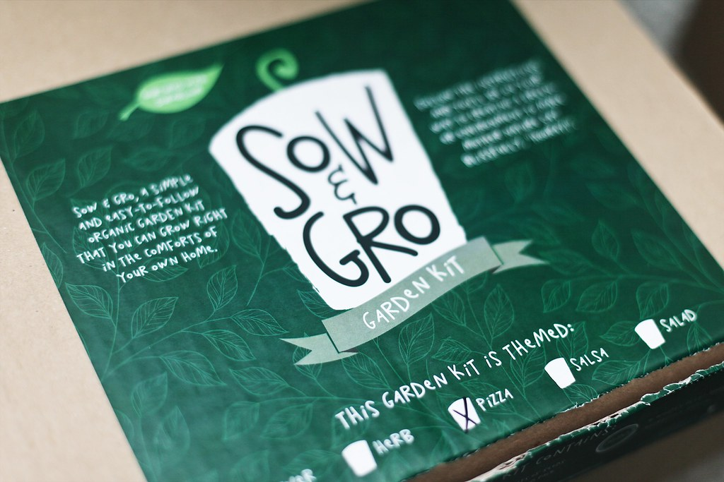 Sow & Gro Pizza Themed Garden Kit