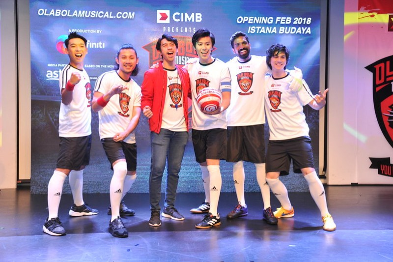 [L-R] Lim Jian Wen, Luqman Hafidz, Iedil Putra, Brian Chan. Abimanyu Misilamani, Kai Chalmers