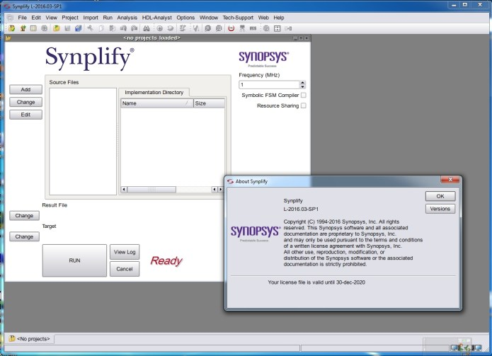 Working with Synopsys Synplify with Design Planner L-2016.03-SP1 full
