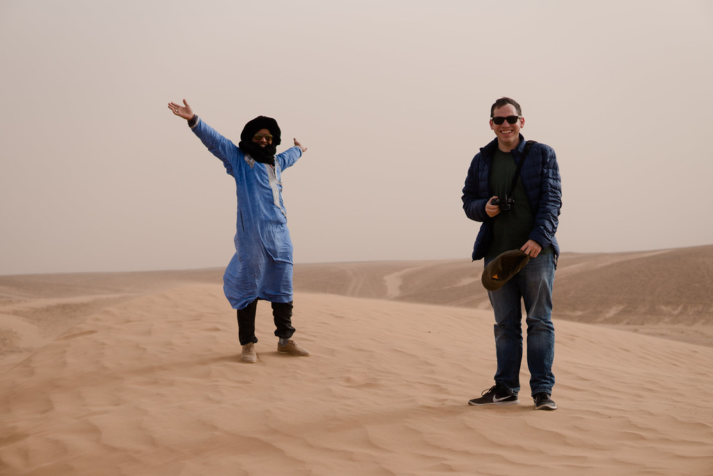 Tony and our guide Habib