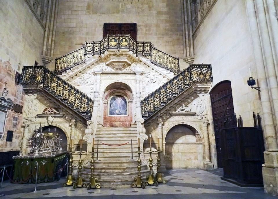 Catedral de Burgos Escalera dorada