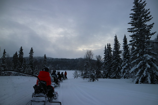 Sneeuwscooter Are Zweden