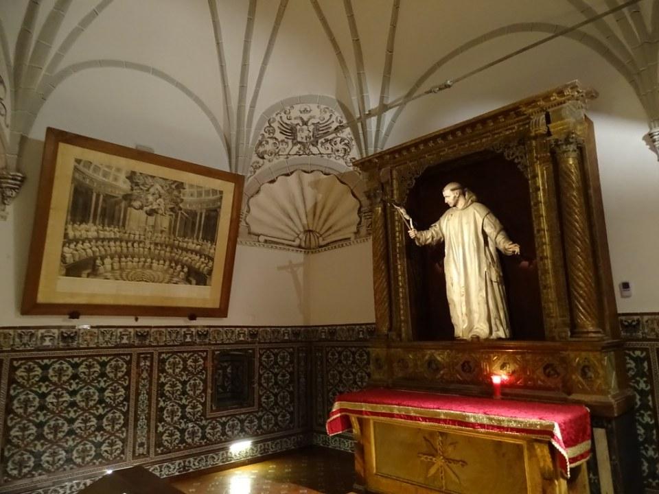 Cartuja Santa Maria Miraflores Capilla San Bruno Burgos 04