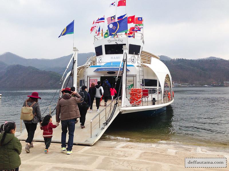 Nami Island - Boat