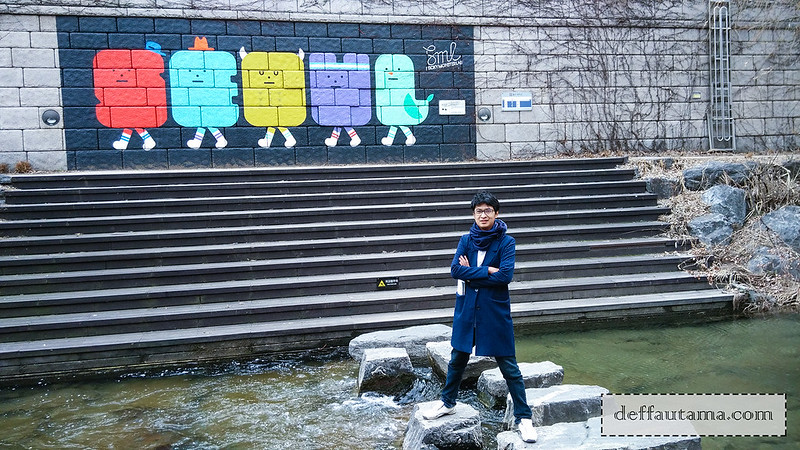 5 hari di Seoul - Cheong Gye Cheon Stream 2