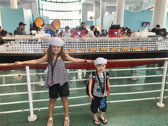 disney cruise ship model