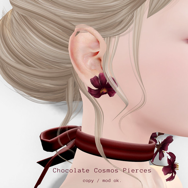 *NAMINOKE*Chocolate Cosmos Pierces