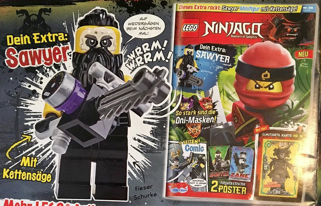 LEGO Ninjago Magazin 34 - Sawyer