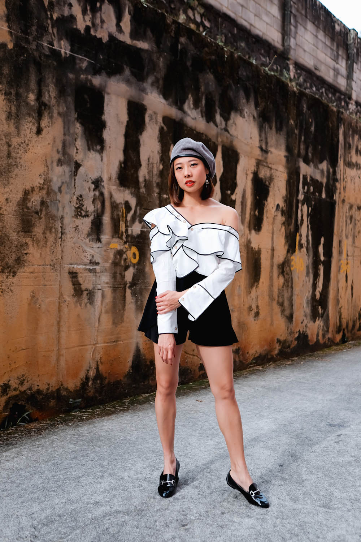 Shein Frill Shirt-14