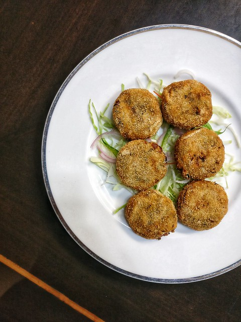 Fenugreek Vegetable Cutlets