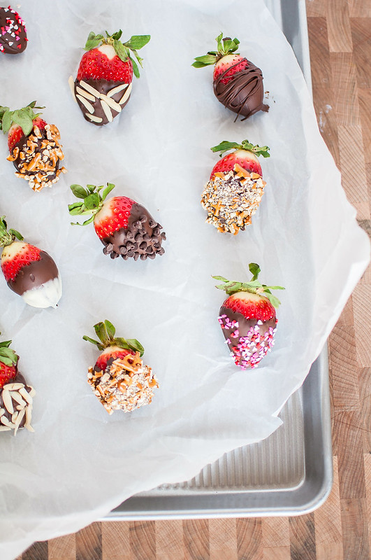 Fancy Ass Chocolate Dipped Strawberries