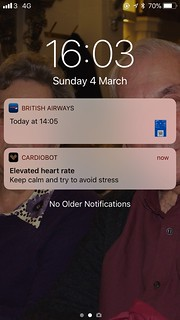 Now my phone has to tell me I'm stressed!