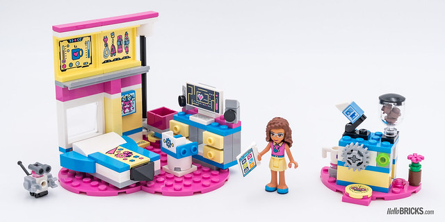 REVIEW LEGO Friends 2018 - LEGO 41329 Olivia's deluxe Bedroom