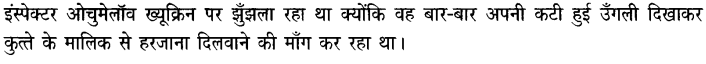 Chapter Wise Important Questions CBSE Class 10 Hindi B - गिरगिट 5a
